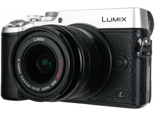 Цифровой фотоаппарат Panasonic Lumix DMC-GX8KEE-S (LUMIX G VARIO), серебристо-чёрный, вид 3