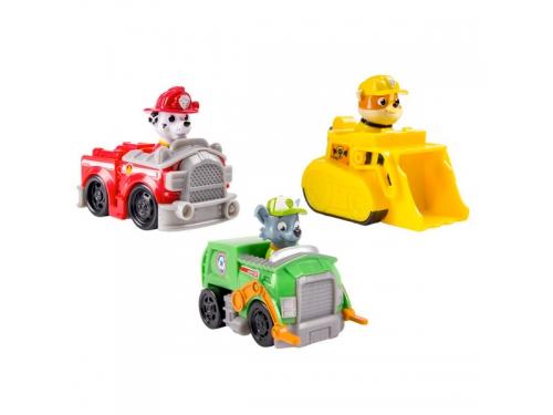 Набор игровой Paw Patrol Набор из 3 маленьких машинок (27959), вид 2