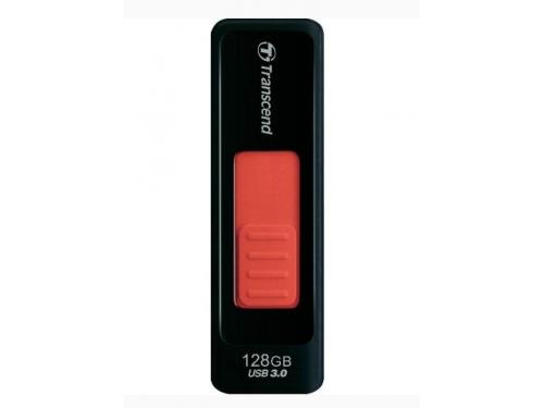 Usb-флешка 128GB Transcend JetFlash 760, USB 3.0, Черный/Красный, вид 2