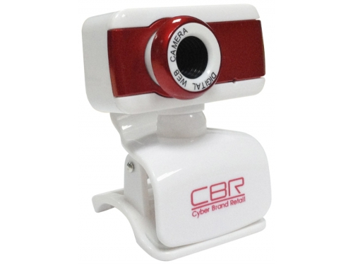 Web-камера CBR CW 832M, красная, вид 1
