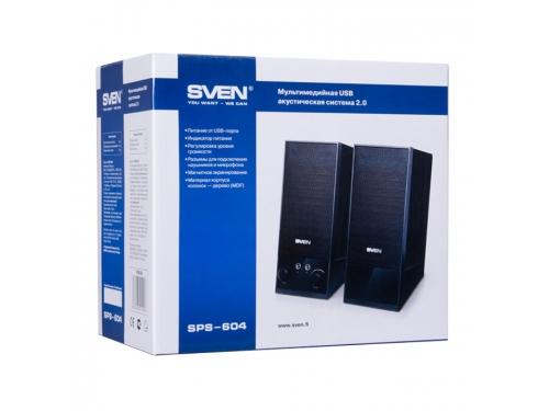 Компьютерная акустика Sven SPS-604, черный, вид 4