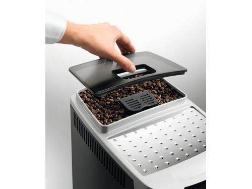 Кофемашина DeLonghi ECAM 22.110.SB, серебристая, вид 3