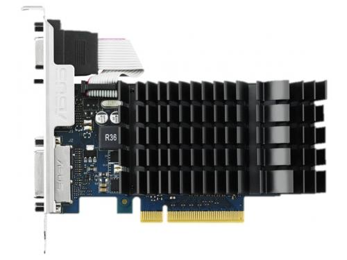 Видеокарта GeForce ASUS GeForce GT730 (PCI-E 2.0, 902 MHz, 2Gb GDDR3 1800MHz, 64-bit), вид 2