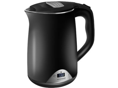 Чайник электрический Redmond RK-M 125D, черный, вид 1