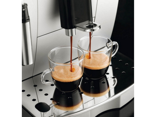Кофемашина DeLonghi ECAM 22.110.SB, серебристая, вид 4