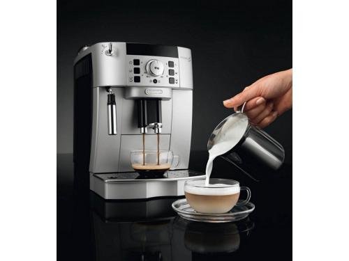 Кофемашина DeLonghi ECAM 22.110.SB, серебристая, вид 5