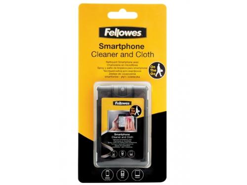 Чистящая принадлежность для ноутбука Fellowes FS-99106 (набор для чистки смартфонов - спрей, салфетка, чехол), вид 1