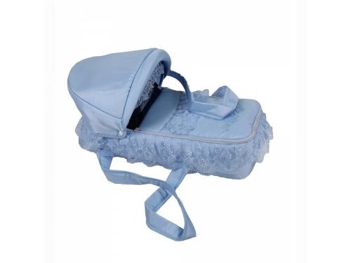 Товар для детей Лео люлька-переноска для коляски Восточная сказка голубая, вид 1