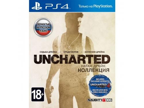 Игра для PS4 Uncharted: Натан Дрейк. Коллекция, вид 1