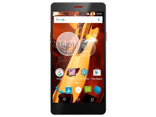 Смартфон HighScreen Thunder 2/16Gb, черный, вид 1