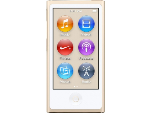 Аудиоплеер Apple iPod Nano 16GB, Gold (MKMX2RU/A), вид 1