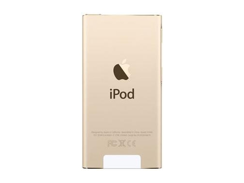 Аудиоплеер Apple iPod Nano 16GB, Gold (MKMX2RU/A), вид 5