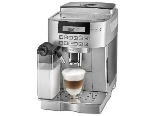 Кофемашина Delonghi ECAM 22.360.S серебристая, вид 1