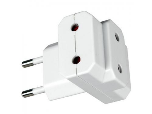 Разветвитель электропитания Uniel S-ES3-10T (10А, 2200Вт) White, вид 1