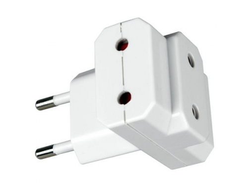 Разветвитель электропитаня Uniel S-ES3-10T (10А, 2200Вт) White, вид 1
