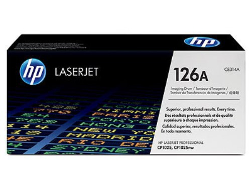Картридж HP 126A black, вид 1