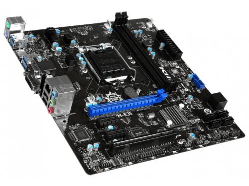 Материнская плата MSI H97M-E35 Soc-1150 H97 DDRIII mATX SATA3  LAN-Gbt +RaiD USB3.0 VGA/DVI/HDMI, вид 4