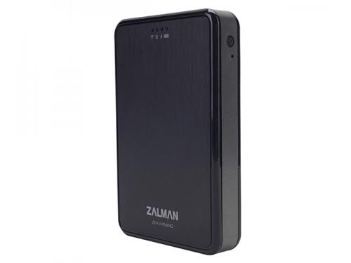 Корпус для жесткого диска ZALMAN ZM-WE450 (2.5'', USB 3.0, Wi-Fi), чёрный, вид 6