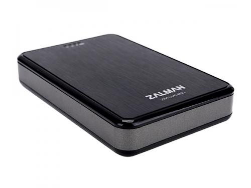 Корпус для жесткого диска ZALMAN ZM-WE450 (2.5'', USB 3.0, Wi-Fi), чёрный, вид 2