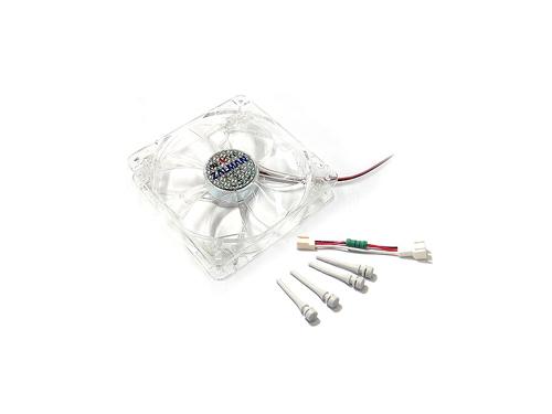 Кулер Zalman ZM-F3 LED, 120мм, 3-pin, синяя подсветка, вид 3
