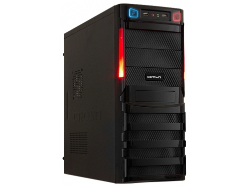 Корпус CROWN CMC-SM162 450W Black, вид 1