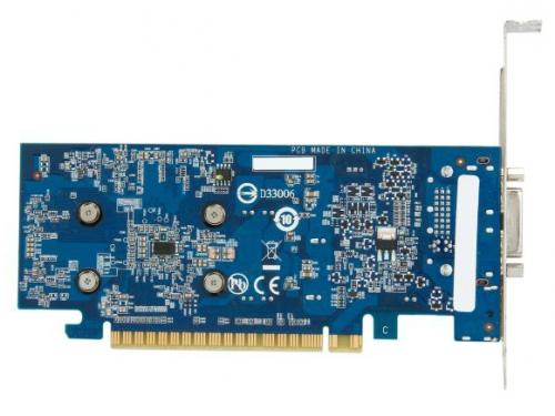 Видеокарта GeForce Gigabyte GeForce GTX 750Ti, 2Гб GDDR5, DVI-I / 2xHDMI / DP, низкопрофильная, (GV-N75TOC-2GL), вид 6