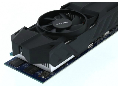 Видеокарта GeForce Gigabyte GeForce GTX 750Ti, 2Гб GDDR5, DVI-I / 2xHDMI / DP, низкопрофильная, (GV-N75TOC-2GL), вид 8