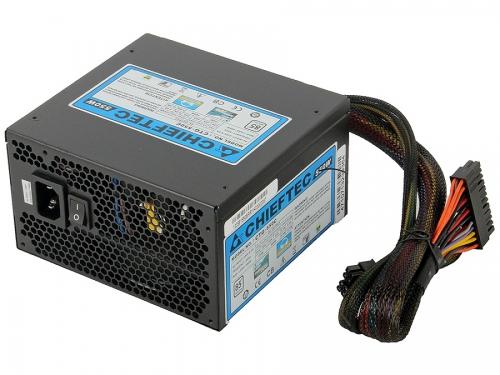 Блок питания Chieftec 550W CTG-550C (ATX v2.3, APFC, Fan 12 см, съёмные кабели), вид 2
