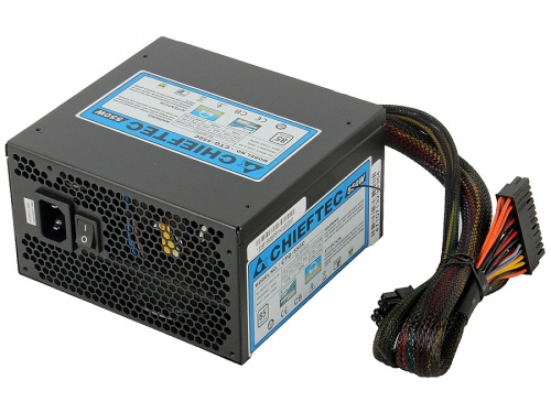 ���� ������� Chieftec 550W CTG-550C (ATX v2.3, APFC, Fan 12 ��, ������ ������), ��� 2