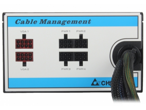 ���� ������� Chieftec 550W CTG-550C (ATX v2.3, APFC, Fan 12 ��, ������ ������), ��� 3