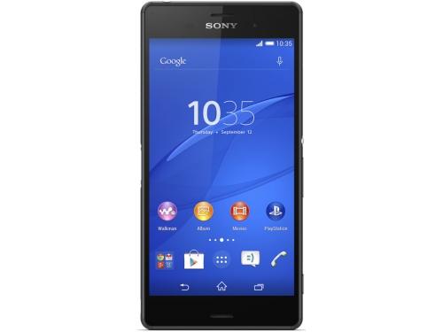 Смартфон Sony D6633 Xperia Z3 Dual, чёрный, вид 1