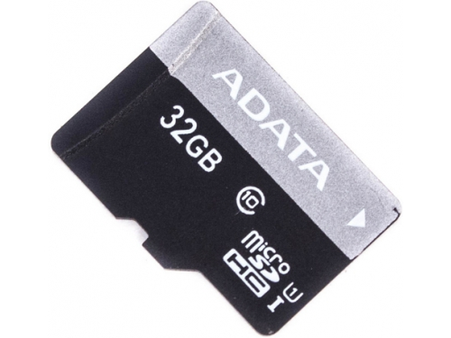 Карта памяти Флеш карта MicroSDHC 32Gb class10 A-DATA UHS-1 +адаптер, вид 2