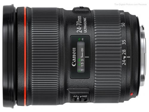 Объектив для фото Canon EF 24-70mm f/2.8L II USM (стандартный Zoom), вид 1