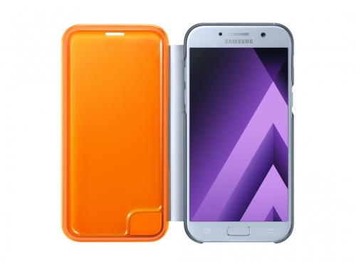 Samsung для Galaxy A7 (2017) Neon Flip Cover, синий