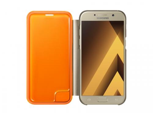 Чехол для смартфона Samsung для Samsung Galaxy A5 (2017) Neon Flip Cover, золотистый, вид 1