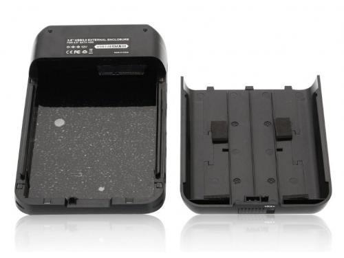 Корпус для жесткого диска AgeStar 3UB3A8-6G (внешний, SATA - USB3.0), чёрный, вид 2