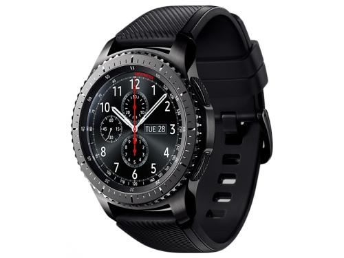 Умные часы Samsung Gear S3 frontier, матовый титан, вид 1