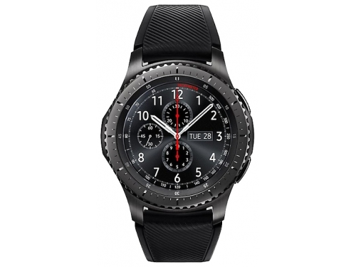 Умные часы Samsung Gear S3 frontier, матовый титан, вид 2