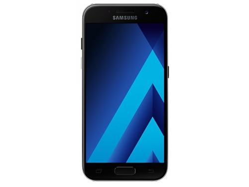 Смартфон Samsung Galaxy A3 (2017) SM-A320F, черный, вид 1