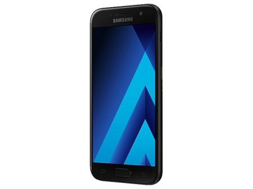 Смартфон Samsung Galaxy A3 (2017) SM-A320F, черный, вид 3