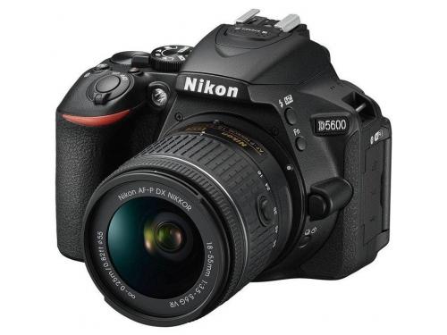 Цифровой фотоаппарат Nikon D5600 Kit (AF-P 18-55 VR), зеркальный, вид 1