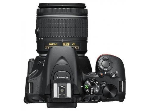 Цифровой фотоаппарат Nikon D5600 Kit (AF-P 18-55 VR), зеркальный, вид 2