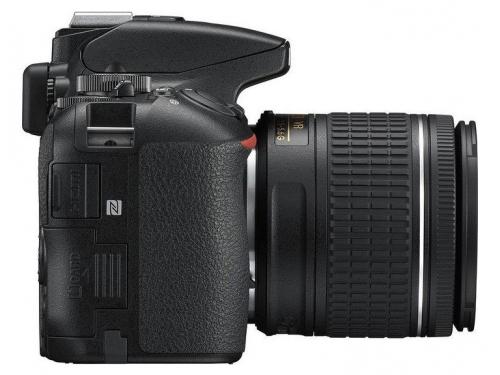 Цифровой фотоаппарат Nikon D5600 Kit (AF-P 18-55 VR), зеркальный, вид 3