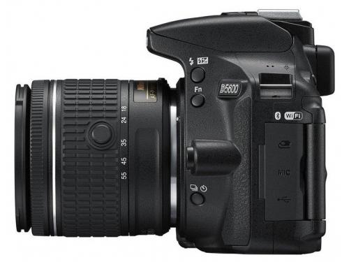 Цифровой фотоаппарат Nikon D5600 Kit (AF-P 18-55 VR), зеркальный, вид 4