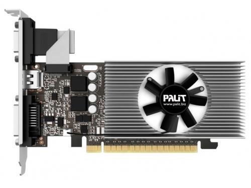 Видеокарта GeForce Palit GeForce GT 730 902Mhz PCI-E 2.0 2048Mb 5000Mhz 64 bit DVI HDMI HDCP, NE5T7300HD46-2081F, вид 1