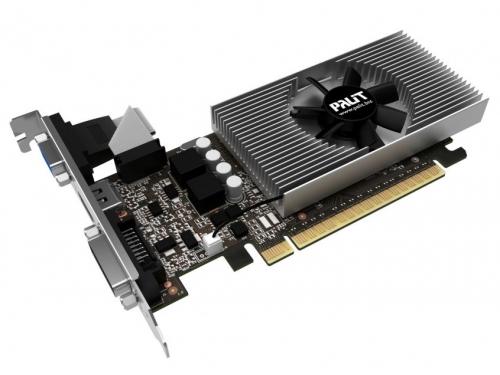 Видеокарта GeForce Palit GeForce GT 730 902Mhz PCI-E 2.0 2048Mb 5000Mhz 64 bit DVI HDMI HDCP, NE5T7300HD46-2081F, вид 2