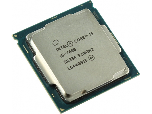 Процессор Intel Core i5-7600 Kaby Lake (3500MHz, LGA1151, L3 6144Kb, Tray), вид 1