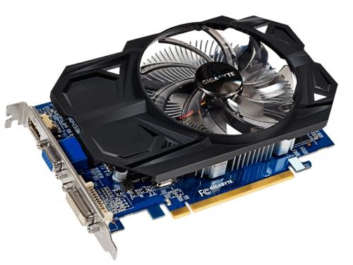 Видеокарта Radeon Gigabyte Radeon R7 350 970Mhz PCI-E 3.0 2048Mb 1600Mhz 128 bit DVI HDMI DP, вид 1