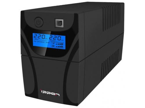 Источник бесперебойного питания Ippon Back Power Pro LCD 700, черный, вид 1
