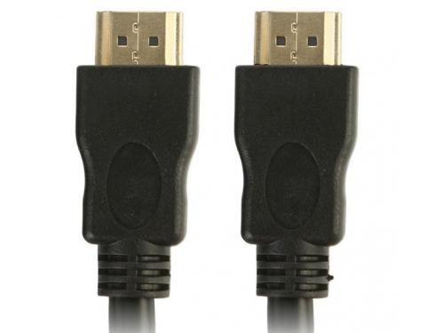 Кабель (шнур) TV-COM CG150S-1.5M (HDMI M-M, v1.4, 1.5 м), чёрный, вид 1